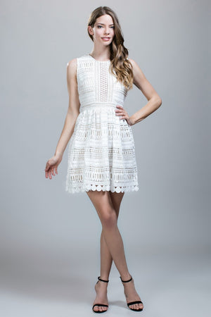 Full Lace Cocktail Dress