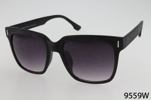 Faux Wood Wayfarer Sunglasses
