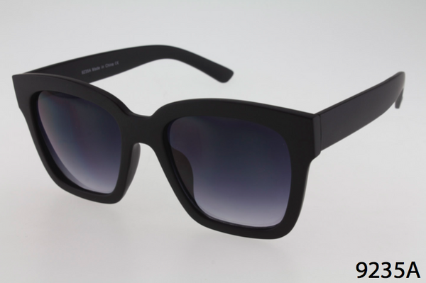 Thick Rectangular Frame Sunglasses