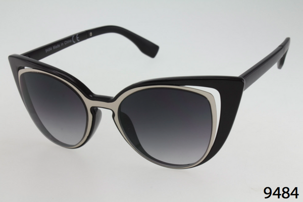 Double Layer Cateye Sunglasses
