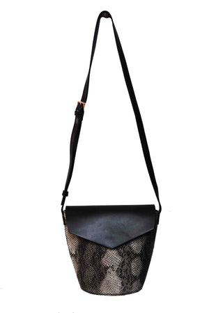 FLAP OVER BUCKET BAG