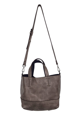 Distressed Reversible Small Tote