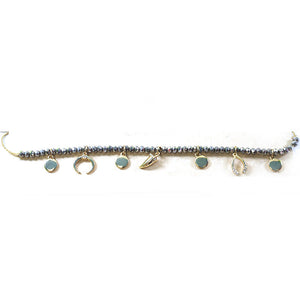 Crystal & Charms Choker