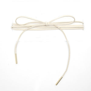 Ribbon Wrap Choker
