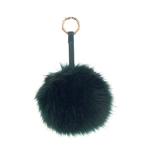 Faux Fur Bag Charm