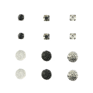 Diamonds Disco Ball Studs