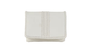 SADDLE STITCH CROSSBODY