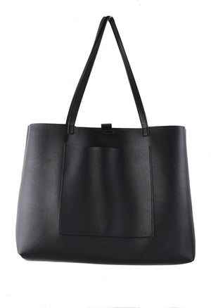 FRONT POCKET SLOUCH TOTE