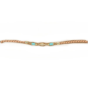Braided Charm Choker