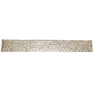 Diamond Band Choker