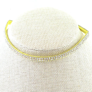 Double Layer Diamond Choker NL