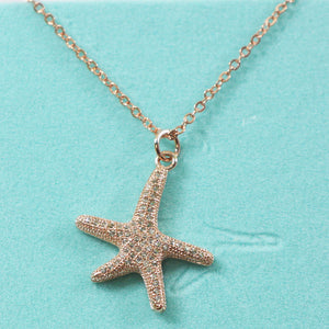 Diamond Starfish Charm NL