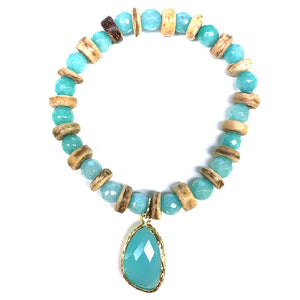 Crystal BR with Jewel Charm