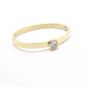 Solitaire Bangle