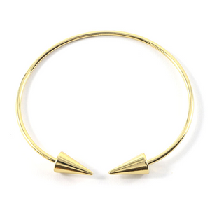 Arrow Ends Open Bangle