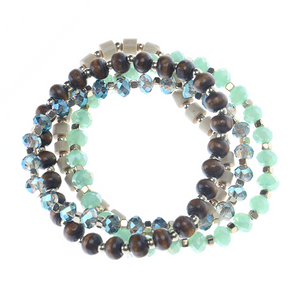 Mixed Bead Stretch BR Set