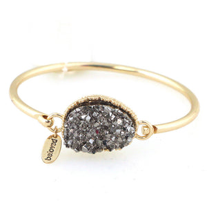 Druze Solitaire Bangle