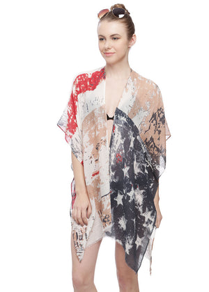 American Flag Pull On Wrap
