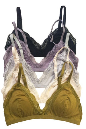 Adjustable Soft Triangle Bralette