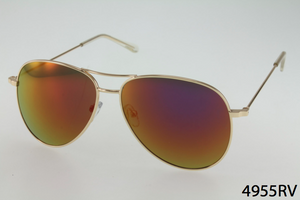 Basic Metal Frame Aviator Sunglasses