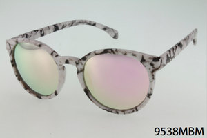 Marblized Frame Sunglasses