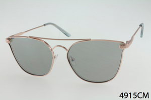 Metal Frame Square TearDrop Sunglasses