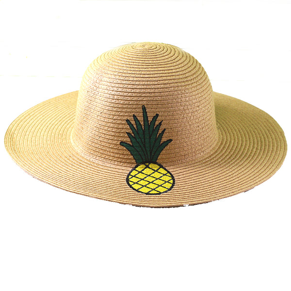Pinapple Sun Hat