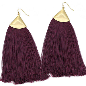 Fan Fringe Earrings