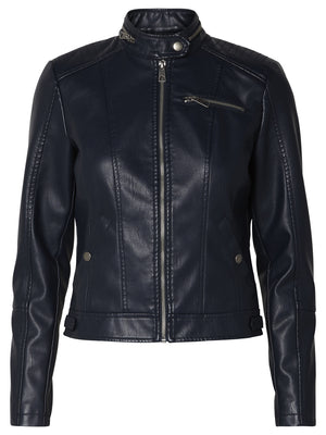 Elda Short PU Jacket