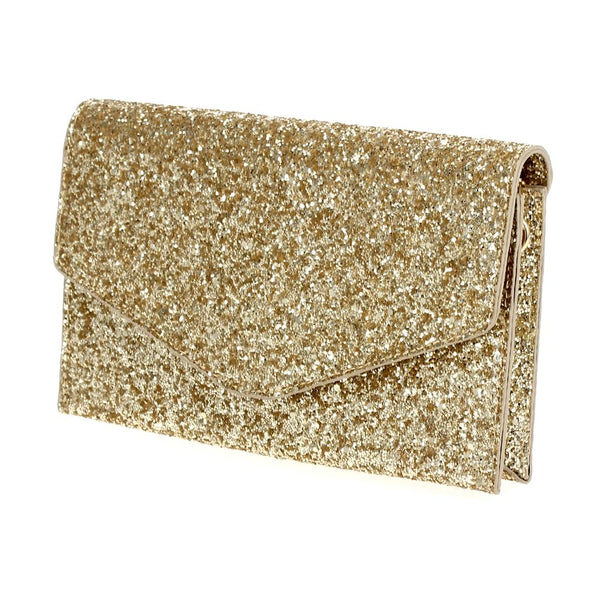 Galaxy Glitter Envelope Clutch