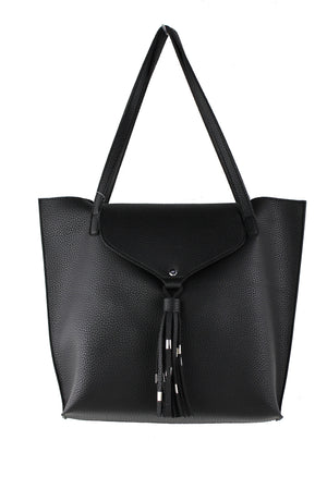FLAP OVER TOTE WITH POUCH