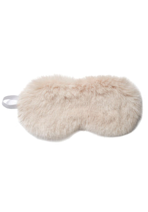 Faux Fur Eye Mask