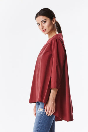 Full Flowing Pullover Shirt