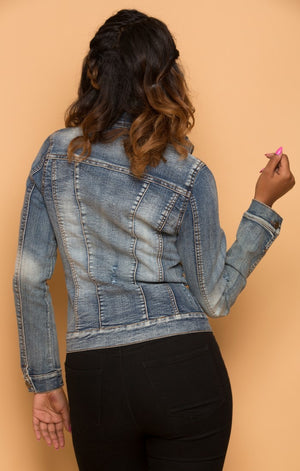 Classic Denim Button Up Jacket