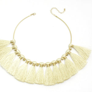 Mini Fringe Collar Necklace