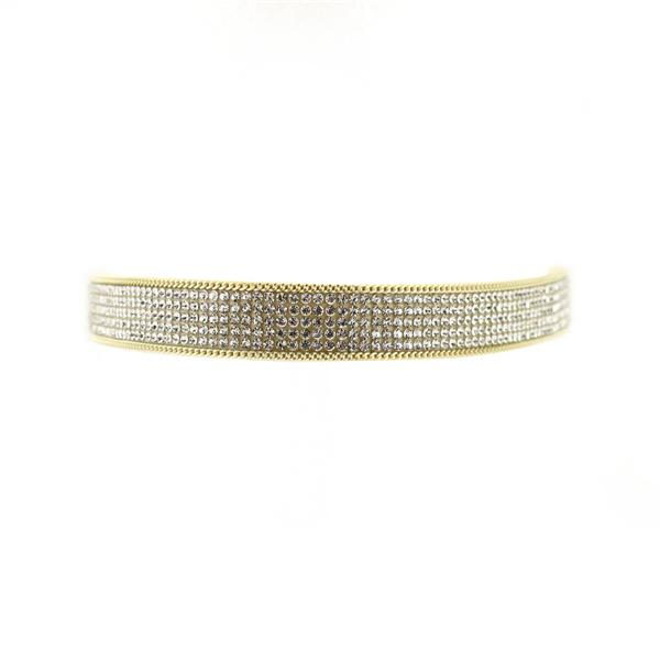Chain Trim Diamond Choker NL