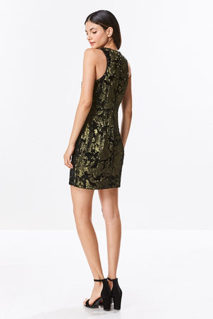 Sequin Bodycon Shift Dress