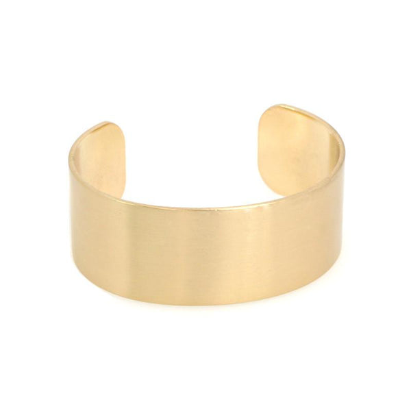 Brushed Metal Cuff BL