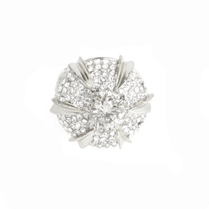 Blooming Diamonds Cocktail Ring