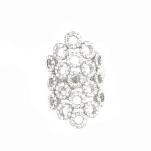 Diamond Bubbles Statement Ring