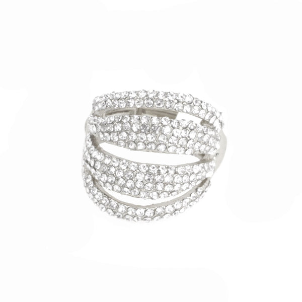 Diamond Layers Stmt Ring