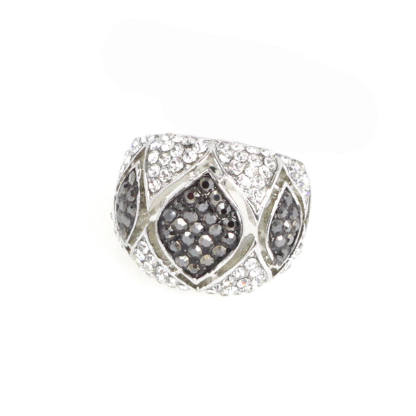 Orb Diamond Inset Ring