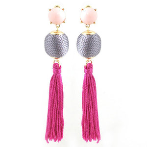 Silk Rope Ball with Tassle