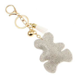 Diamond Bear Keychain