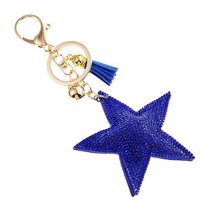 Diamond Star Keychain