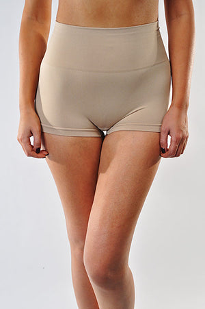 Highwaist Seamless Tummy Control Short