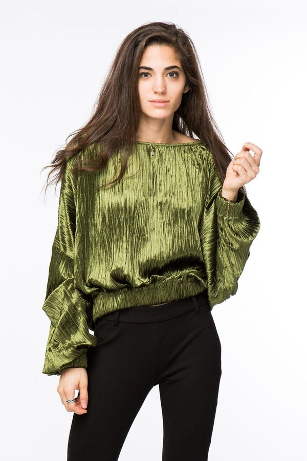 Crushed Velvet Sweater