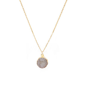 Druze Mini Circle Necklace