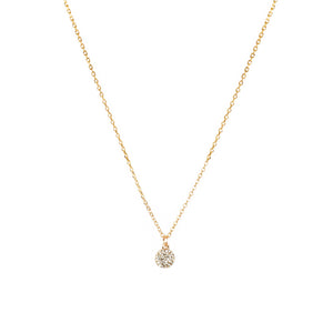 Sparkle Solitaire Necklace