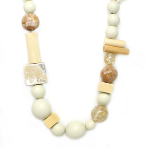 Glass & Wood Mixed Beads NL